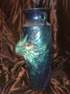 premer raboty 1 225x300 - Тёмно-синяя ваза с Демоном первого Легиона. АПОФЕТ