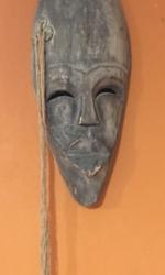 Африканская маска Лоа Ошун (деньги)