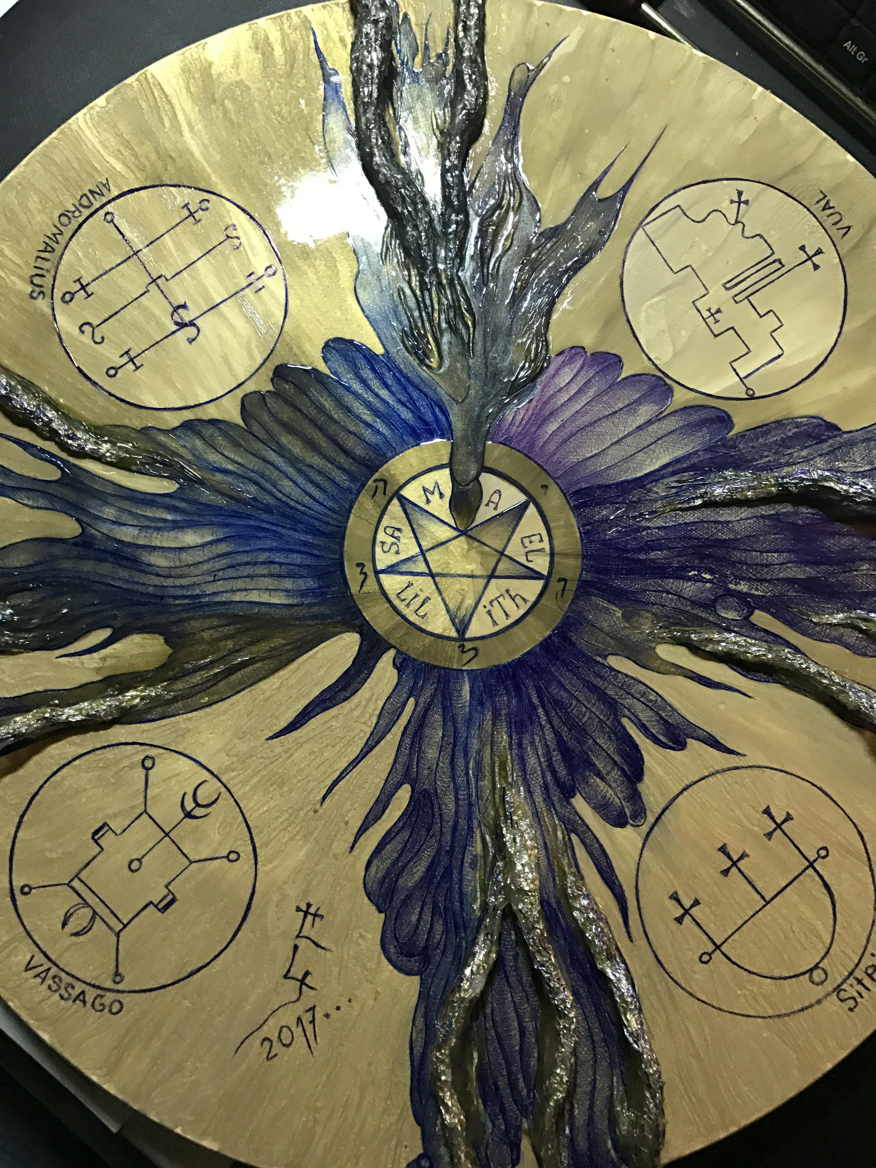 IMG 1539 - Чёрный алтарь на 4 Демона